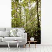 Groene jungle in het Nationaal park Canaima in Venezuela fotobehang vinyl 180x270 cm - Foto print op behang