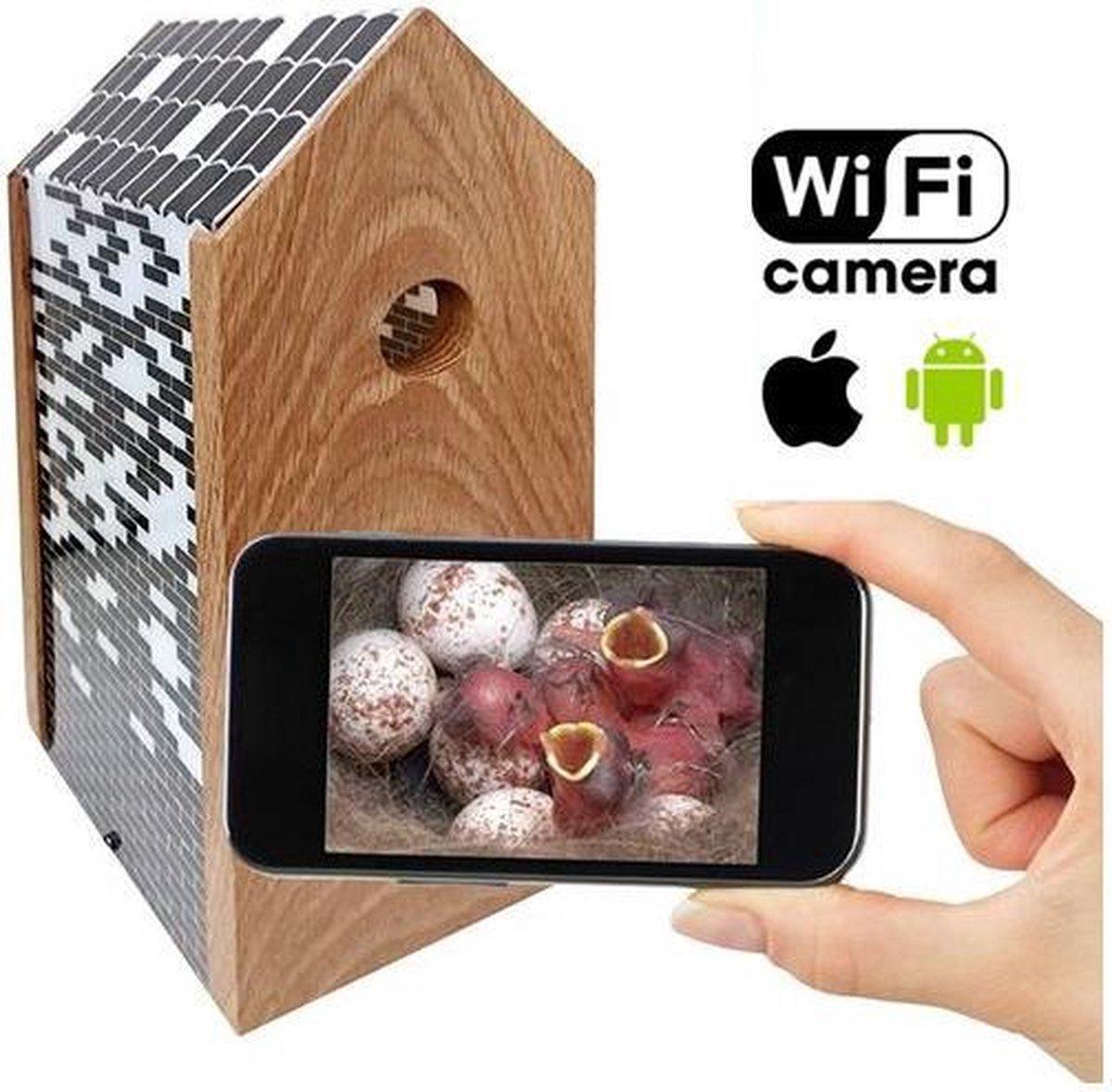 Meuwissen Agro Vogelhuisje Bricks met WiFi Camera - Vogelhuisje - Meuwissen Agro