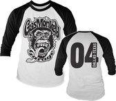 GAS MONKEY - Baseball Long Sleeve T-Shirt - Garage 4 (XXL)