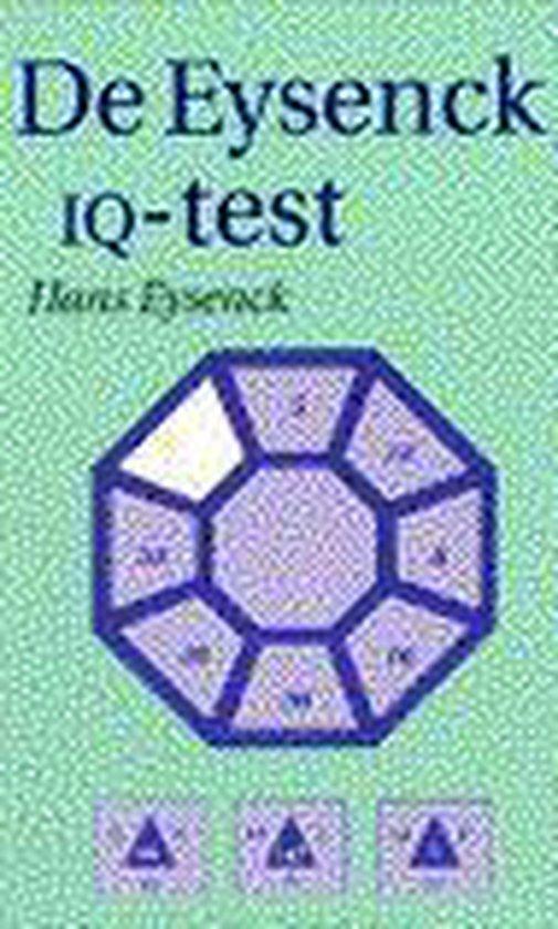 Boek cover Eysenck iq-test van Hans J. Eysenck (Paperback)