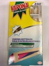 Vapona Voedselmottenval 2 verpakkingen met 2 stuks