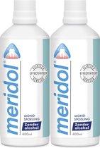 Meridol Tandvlees Mondspoeling - 2x 400 ml - Voordeelverpakking
