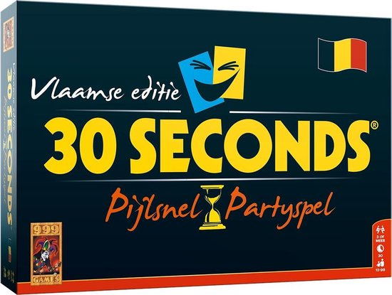 30 Seconds Vlaamse Editie - Bordspel