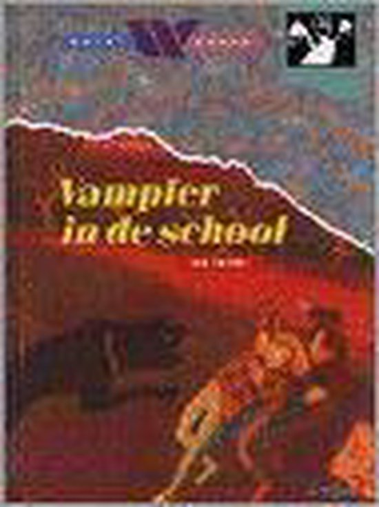 Boek cover Vampier in de school van Paul van Loon (Onbekend)