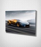 Lamborghini Terzo Millennio Canvas | 30x40 cm