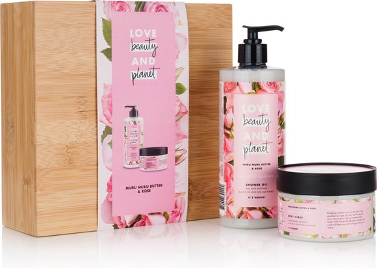 Love Beauty and Planet Muru Muru Butter & Rose Duo Geschenkset