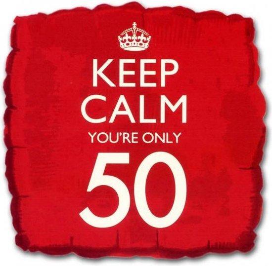 Keep Calm folie ballon 50