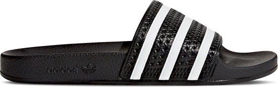 adidas Adilette Heren Slippers - Core Black/White/Core Black - Maat 46