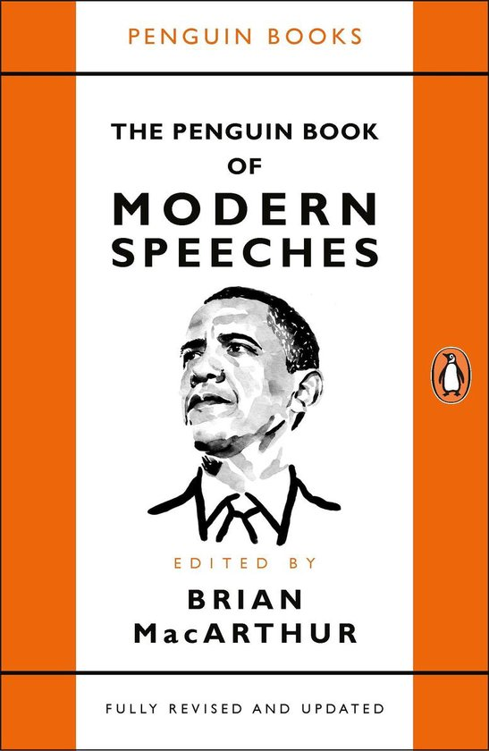 Boek cover The Penguin Book of Modern Speeches van Brian MacArthur (Paperback)