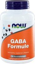 Now - GABA Formule (90 kauwtabs)