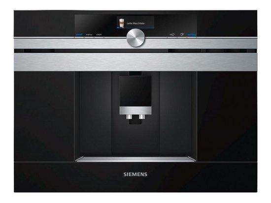 Siemens CT636LES6 iQ700 - Inbouw espresso volautomaat - HomeConnect - WiFi
