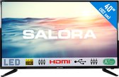 Salora 40LED1600 - Televisie - LED - Full HD - 40 Inch - HDMI - USB - 12 Volt