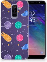 Samsung Galaxy A6 Plus (2018) TPU Siliconen Hoesje Space