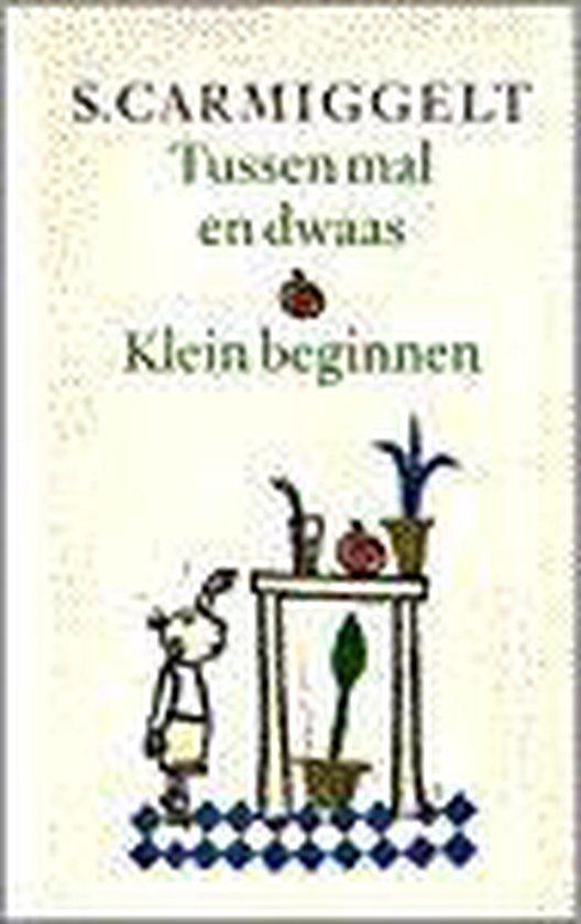 Cover van het boek 'Tussen mal en dwaas . Klein beginnen' van S. Carmiggelt