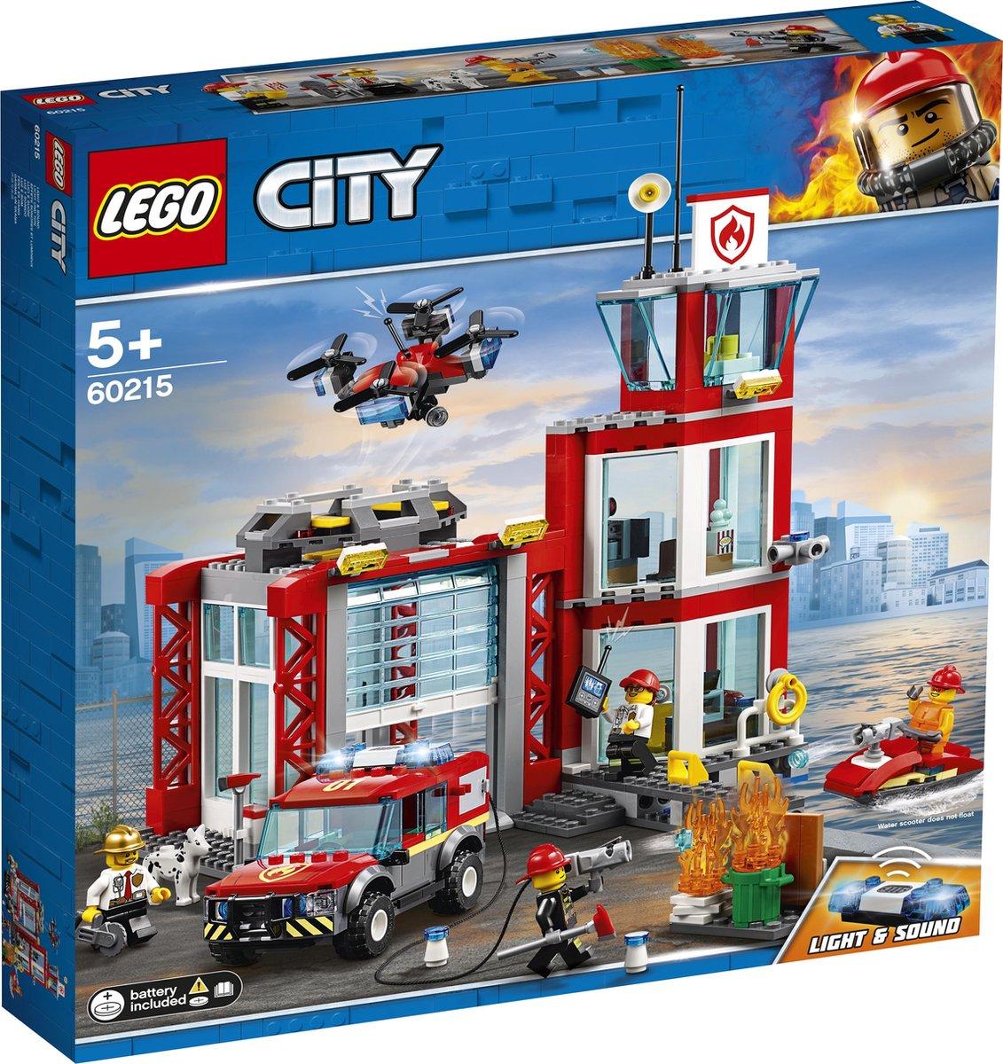 LEGO City Brandweerkazerne - 60215