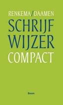 Boek cover Schrijfwijzer compact van Jan Renkema
