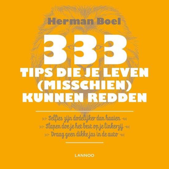 333 weetjes die je leven (misschien) kunnen redden (E-boek - ePub-formaat) - Herman Boel |