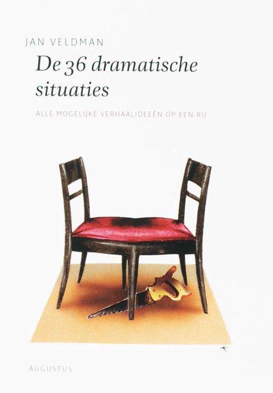 Boek cover De schrijfbibliotheek - De 36 dramatische situaties van Jan Veldman (Onbekend)