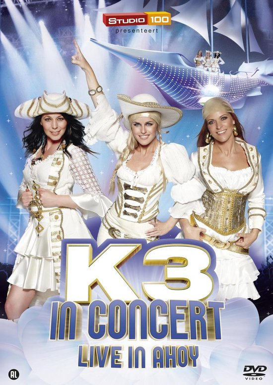 CD cover van Live In Ahoy 2012 van K3