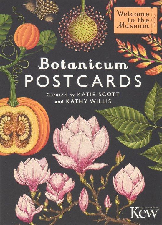Botanicum - set van 50 wenskaarten - Botanisch