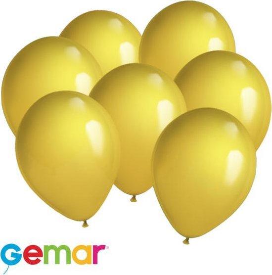 30x ballonnen Metallic Goud (Ook geschikt voor Helium)
