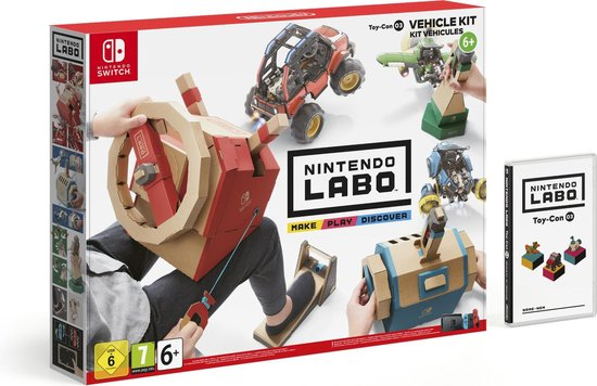 Nintendo Labo - Voertuigenpakket