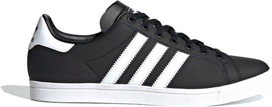adidas Coast Star Heren Sneakers - Core Black/Ftwr White/Core Black - Maat 44