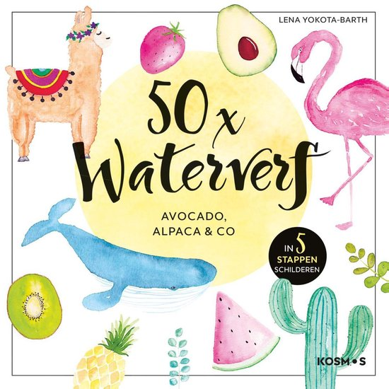 50x waterverf - Lena Yokota-Barth |