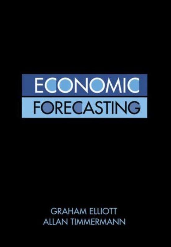 Boek cover Economic Forecasting van Graham Elliott (Hardcover)