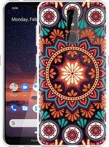 Nokia 3.2 Hoesje Retro Mandala