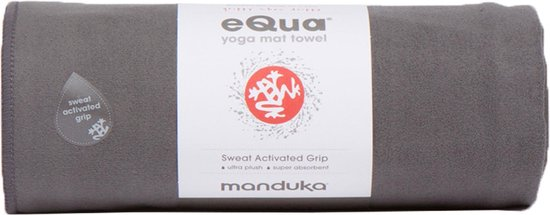Manduka eQua yoga handdoek - thunder