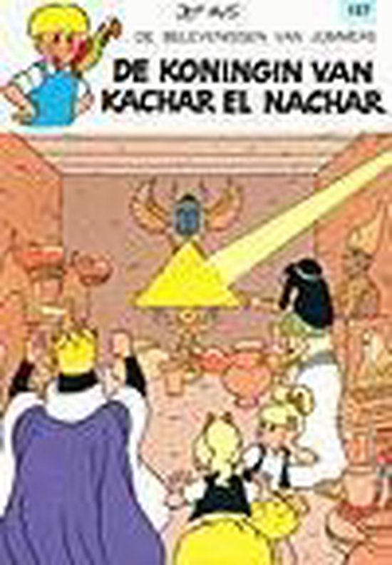 Jommeke: 157 De koningin van Kachar El Nachar - Jef Nys  