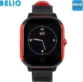 BELIO©TOUCH – GPS horloge kind – Zwart/Rood