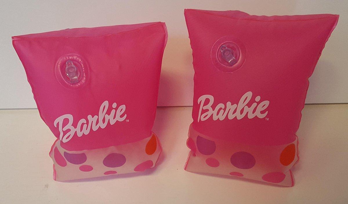Barbie Opblaasbare armbanden - Zwemvleugels - Zwembandjes - 23x15 cm