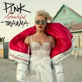CD cover van Beautiful Trauma van P!Nk