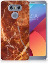 LG G6 TPU Hoesje Design Marmer Bruin