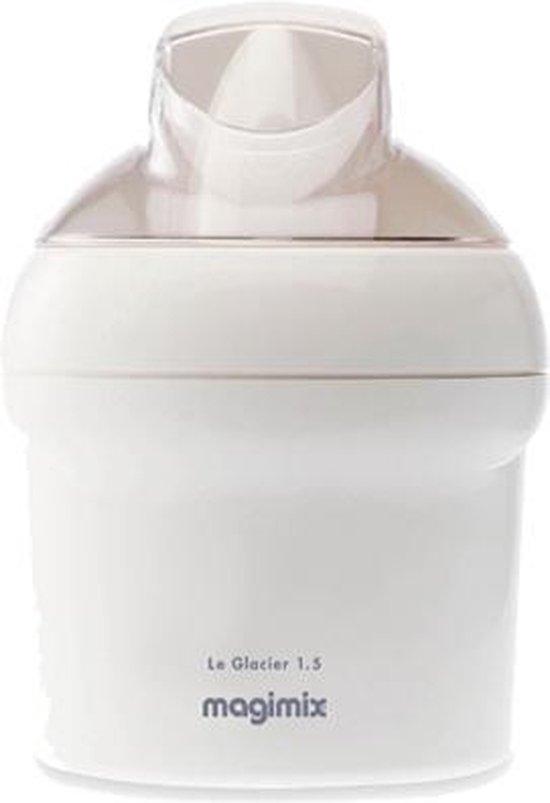 Magimix Le Glacier 1,5L - IJsmachine - Wit