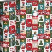 Gift Deco Inpakpapier Engelse Kerst 57 Cm X 150 M