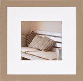Fotolijst - Henzo - Driftwood - Fotomaat 30x30 - Beige