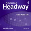 American Headway - second edition 4 class audio-cd's (3x)