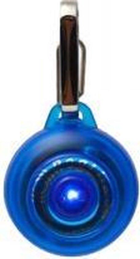 Rogz RogLite veiligheidslampje voor de hond - Blauw