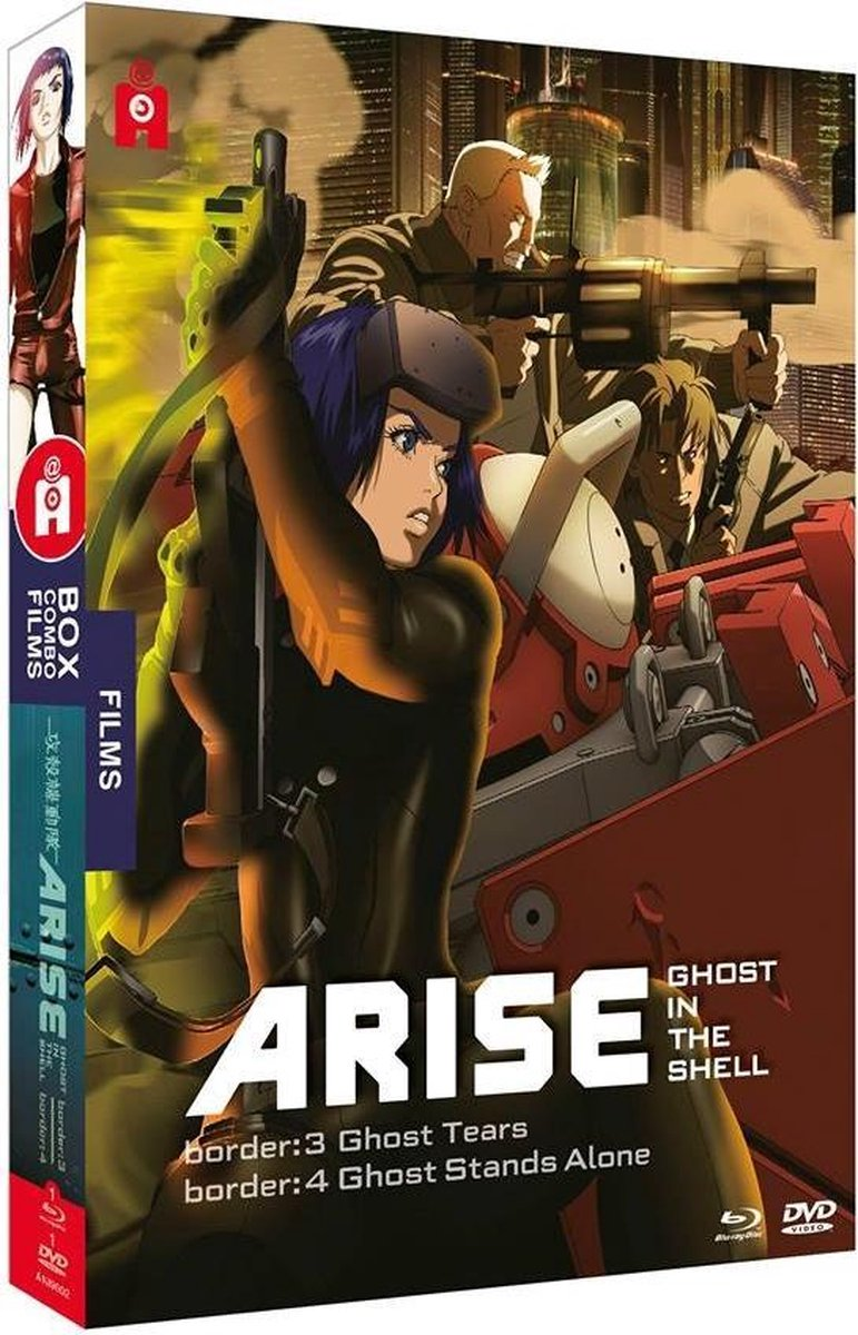 Ghost in the Shell : Arise Films 3 & 4 Edition Combo Blu-Ray + DVD-