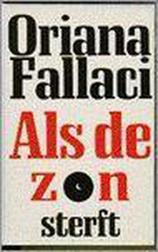 Als de zon sterft - Fallaci |