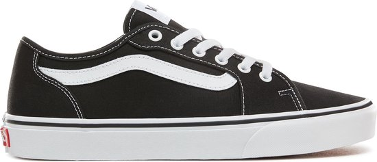 Vans Filmore Decon Canvas Heren Sneakers - Black/White - Maat 41