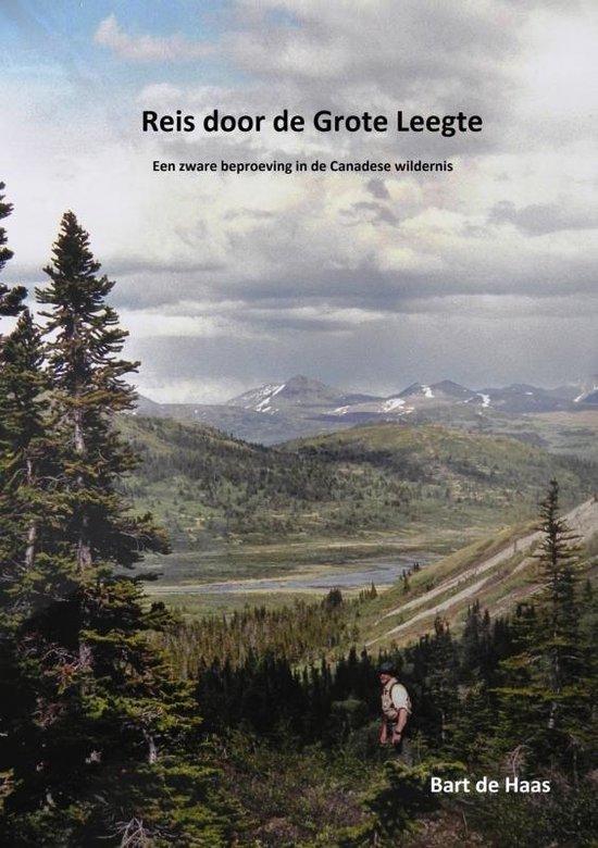 Boek cover Reis door de grote leegte van Bart de Haas (Paperback)