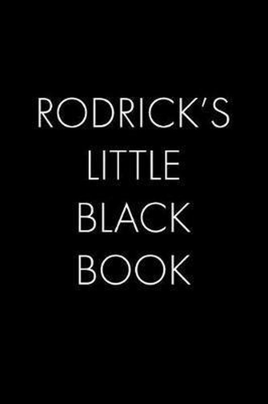 Rodrick's Little Black Book