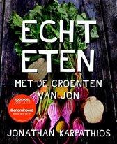 Boek cover Echt eten van Jonathan Karpathios (Hardcover)