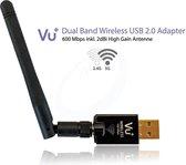 VU+ 600Mbps Wireless WIFI USB 2.0 adapter met WPS setup