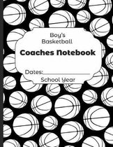 Boys Basketball Coaches Notebook Dates