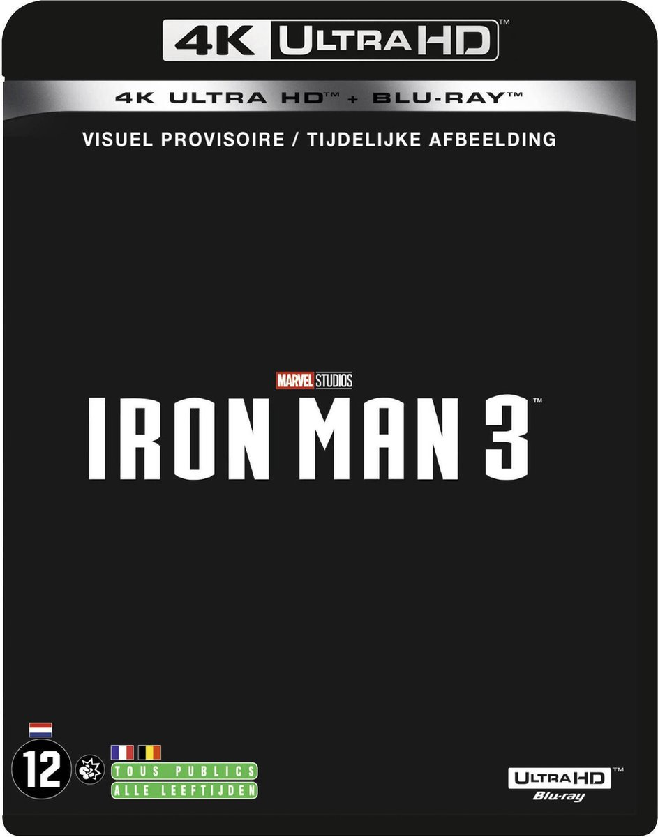 Iron Man 3 (4K Ultra HD Blu-ray)-